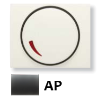 8460.2 AP (8460_2 AP) NIE Olas Перламутровый металлик Накладка светорегулятора поворотного