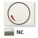 8460.2 NC NIE Olas Никель Накладка светорегулятора поворотного