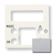 N2240.5 PL NIE Zenit Серебро Накладка электронного термостата 8140.5, 2 мод