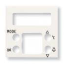 N2249.5 BL NIE Zenit Бел Накладка будильника с термометром 8149.5, 2 мод