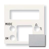 N2249.5 PL NIE Zenit Серебро Накладка будильника с термометром 8149.5, 2 мод