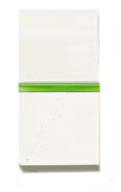 N2102.5 BL NIE Zenit Бел Переключатель 1-клавишный с индикацией 1 мод