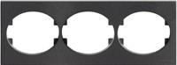 5573.1 AN (5573_1 AN) NIE Tacto Антрацит Рамка 3-ая гориз