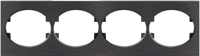 T5574.1 AN NIE Tacto Антрацит Рамка 4-ая