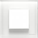 N2271 CB NIE Zenit Стекло белое Рамка 1-я 2 мод