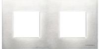 N2272 OX NIE Zenit Сталь Рамка 2-я 2+2 мод