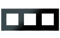 N2273 CN NIE Zenit Стекло черное Рамка 3-я 2+2+2 мод