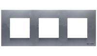 N2273 PL NIE Zenit Серебро Рамка 3-я 2+2+2 мод