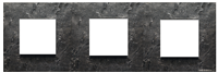 N2273 PZ NIE Zenit Сланец Рамка 3-я 2+2+2 мод
