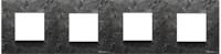 N2274 PZ NIE Zenit Сланец Рамка 4-я 2+2+2+2 мод