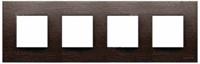 N2274 WG NIE Zenit Венге Рамка 4-я 2+2+2+2 мод