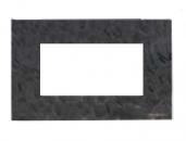 N2474 PZ NIE Zenit Сланец Рамка итальянский стандарт на 4 модуля