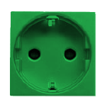 N2288 VD NIE Zenit Зеленый Розетка с/з с защитными шторками