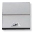 N2260.1 PL NIE Zenit Серебро Светорегулятор нажимной 60-500W универсальный, 2 мод