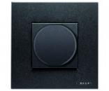 N2260.2 AN NIE Zenit Антрацит Светорегулятор поворотный 60-400W универсальный, 2 мод