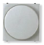 N2260.2 PL NIE Zenit Серебро Светорегулятор поворотный 60-400W универсальный, 2 мод