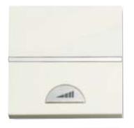 N2260 BL NIE Zenit Бел Светорегулятор нажимной 40-450W для л/н и г/л с обмот. тр-ром, 2 мод