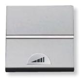 N2260 PL NIE Zenit Серебро Светорегулятор нажимной 40-450W для л/н и г/л с обмот. тр-ром, 2 мод