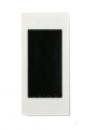 N2671 BL NIE Zenit Бел Цоколь для установки в мебель/перегородки на 1 модуль
