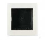 N2672 BL NIE Zenit Бел Цоколь для установки в мебель/перегородки на 2 модуля