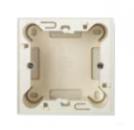 N2991 BL NIE Zenit Бел Цоколь для открытой установки на 1-2 модуля, без рамки