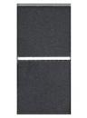 N2101.2 AN NIE Zenit Антрацит Выключатель 1-клавишный 2-х полюсный 1 мод