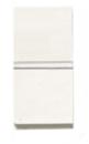 N2101.2 BL NIE Zenit Бел Выключатель 1-клавишный 2-х полюсный 1 мод
