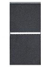 N2101 AN NIE Zenit Антрацит Выключатель 1-клавишный 1 мод