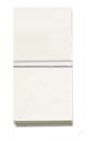 N2101 BL NIE Zenit Бел Выключатель 1-клавишный 1 мод