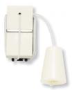 N2148 BL NIE Zenit Бел Выключатель кнопочный со шнурком 1 мод