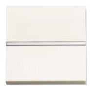 N2201.2 BL NIE Zenit Бел Выключатель 1-клавишный 2-полюсной 2 мод