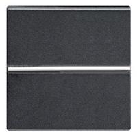 N2201 AN NIE Zenit Антрацит Выключатель 1-клавишный 2 мод