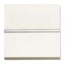 N2201 BL NIE Zenit Бел Выключатель 1-клавишный 2 мод