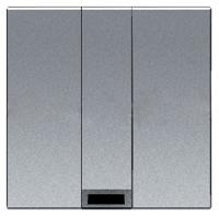 N2207 PL NIE Zenit Серебро Вывод кабеля, 2 мод