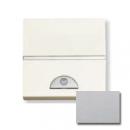 N2262 PL NIE Zenit Серебро Электронный выключатель с таймером 10 сек - 10 мин., 1000 Вт, 2 мод