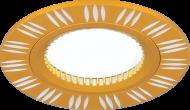 Светильник Gauss Aluminium AL017 Круг. Золото/Хром, Gu5.3 1/100