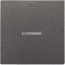AL1561.07FKOAN LS 990 АнтрацитНакладка светорегулятора/выключателя нажимного с ДУ (радио) с индикацией