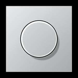 AL1561.07 LS 990 АлюминийНакладка светорегулятора/выключателя нажимного