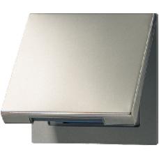 AL2990KL LS 990Алюминий Откидная крышка для розеток и изделий 50х50