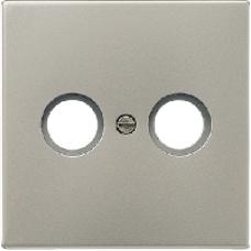 AL2990TV LS 990 АлюминийНакладка TV-FMрозетки