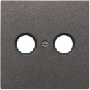 AL2990TVAN LS 990 АнтрацитНакладка TV-FMрозетки