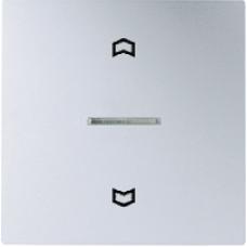 AL5232 LS 990 АлюминийНакладка нажимного электронного жалюзийного выключателя