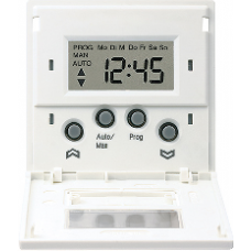 AL5232ST LS 990 АлюминийНакладка жалюзийного выкл. СТАНДАРТ с таймером(мех.220ME,230ME,232ME)