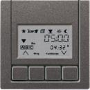 AL5232AN LS 990 АнтрацитНакладка нажимного электронного жалюзийного выключателя