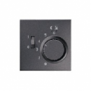 ALFTR231PLAN LS 990 АнтрацитНакладка регулятора теплого пола(мех.FTR231U)