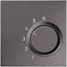 ALTR236PLAN LS 990 АнтрацитНакладка термостатакомнатного(мех TR236U,TR246U)