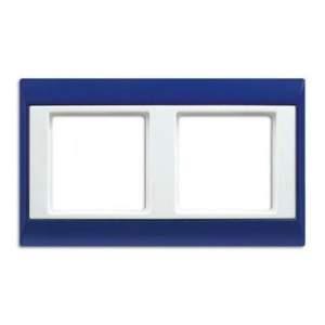 AP582BLWW А Plus Синий/Белый Рамка 2-я
