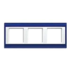 AP583BLWW А Plus Синий/Белый Рамка 3-я