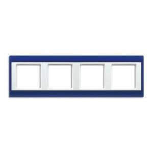 AP584BLWW А Plus Синий/Белый Рамка 4-я