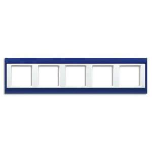 AP585BLWW А Plus Синий/Белый Рамка 5-я